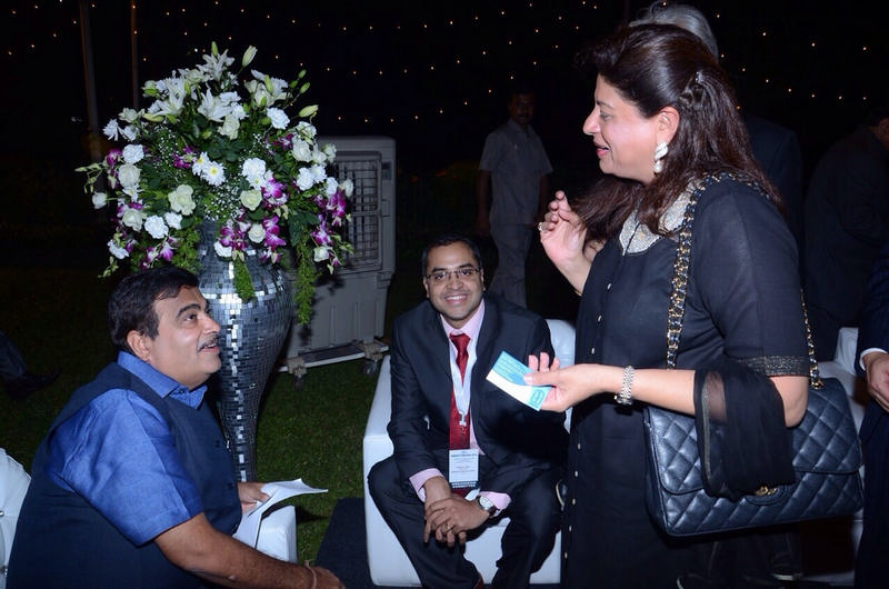 Moloobhoys with Shri Nitin Gadkari, Shipping Minister