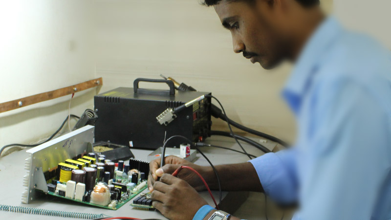 Surface to Surface Missile - Repairing of the printed circuit board (PCB)