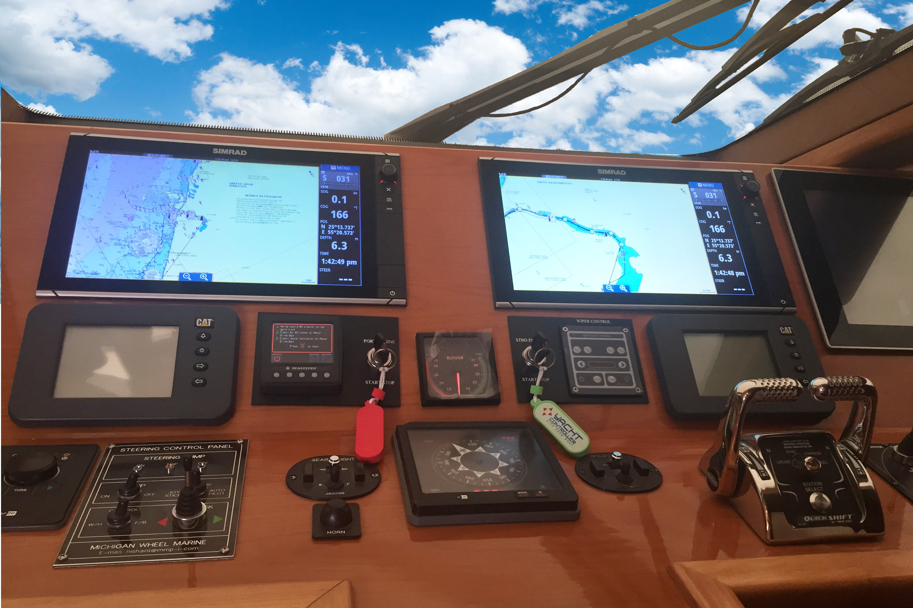 Navigation Equipment of Simrad, Lowrance and B&G