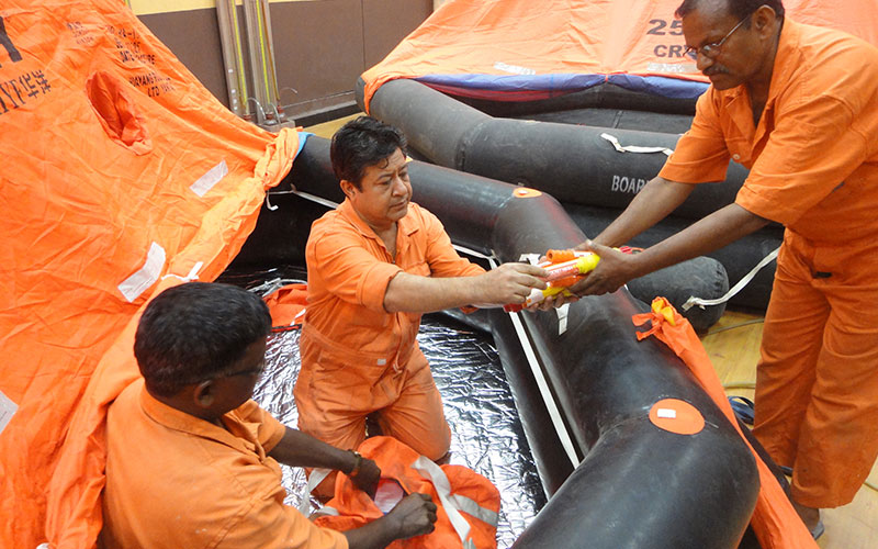 Liferafts and Life Saving Servicing at UAE