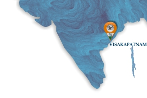 Map of Moloobhoys Vizag Branch