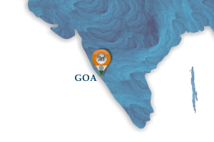 Map of Moloobhoys Goa Branch