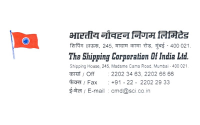S. Hajara of The Shipping Corporation Of India Ltd. is confirm that we have had excellent dealings.