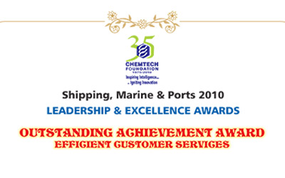D.T. Joseph of Ministry of Shipping, Govt. of India dedicated 2 serving the Indian Marine Industry.