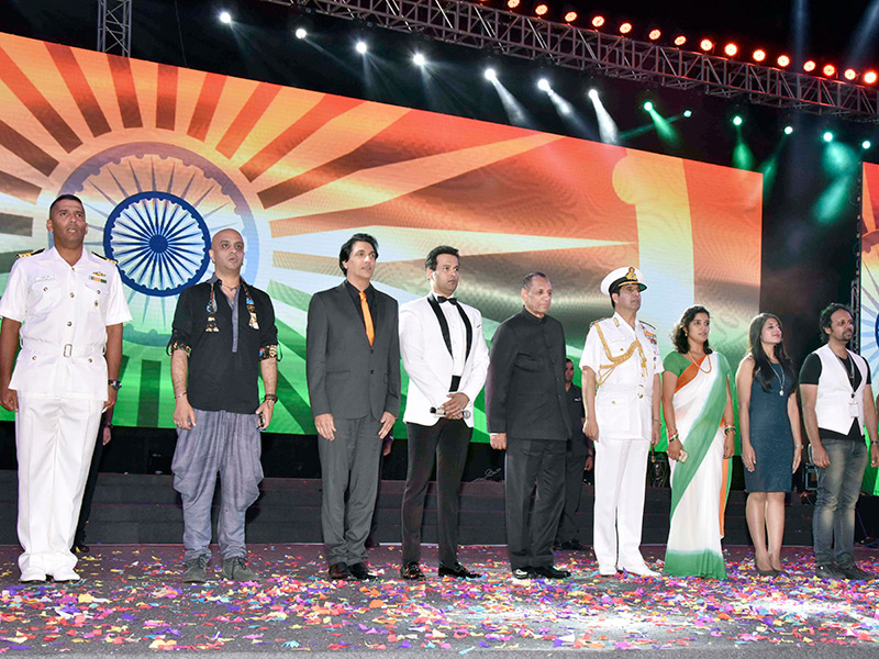 International Fleet Review - Opening Ceremony organised by Moloobhoys